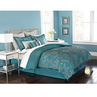 Martha Stewart Collection Bedding, Moonlit Tide 9 Piece Comforter Sets - Bed in a Bag - Bed & Bath - Macy's