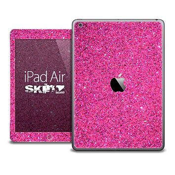 The Pink Glitter Skin for the iPad Air