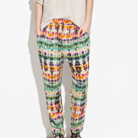 PRINTED TROUSERS - Trousers - TRF - ZARA United States