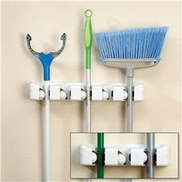 Magic Holder® Broom and Mop Organizers