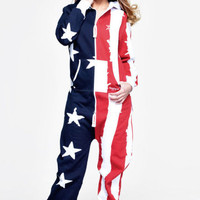 OnePiece USA Onesuit Stars and Stripes - USA Onesuit
