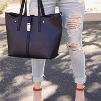 Charmed Life Tote - Black