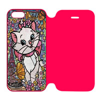 Marie Cat Disney's The AristoCats Stained Glass iPhone 5 | 5S Flip Case Cover