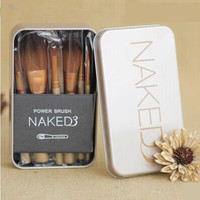 Naked 3 NK4/NK5 Gold Makeup Brushes Set [9710180303]