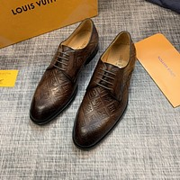 lv louis vuitton men fashion boots fashionable casual leather breathable sneakers running shoes 543