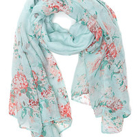 With Love From CA Floral Printed Scarf at PacSun.com