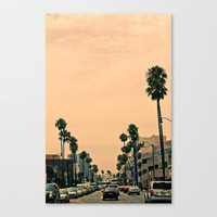 Los Angeles  Stretched Canvas by Andre Elliott