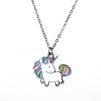 Cartoon Unicorn Necklace