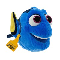 """Licensed cool 17"""" Finding Dory Tang Fish PLUSH STUFFED TOY Ocean Animal Doll Disney Store NEW"""