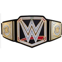 Officially Licensed WWE World Championship Belt by Mattel Bring home the officially
