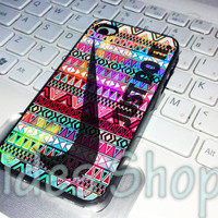 aztec colorful  nike just do it case iphone 4 case, iphone 5 case, iphone 5s case, aides, iphone 5c case, samsung galaxy case, ipod case
