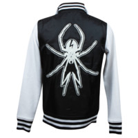 My Chemical Romance Official Store - school sucks, start a band. hooded varsity jacket