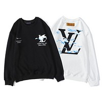LV Autumn / winter 2020 cloud printed letters on the back