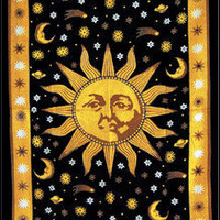 TrippyStore.com - Large Sun Tapestry