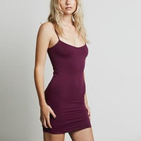 Purple Spaghetti Strap Bodycon Dress