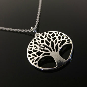 Mothers Day Gift Family Necklace Tree of life Necklace Family Tree Necklace Mothers Jewelry Memorial Necklace