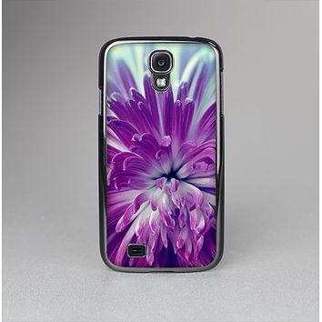The Vivid Purple Flower Skin-Sert Case for the Samsung Galaxy S4
