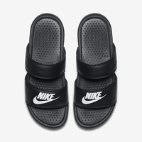 The Nike Benassi Duo Ultra Women's Slide.