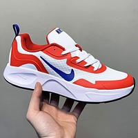 Nike New fashion hook print couple shoes