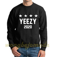 Yeezus Yeezy Sweatshirt, West for President 2020 Unisex Sweatshirts