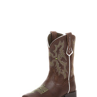 Kid's Tombstone Boot - Roughed Chocolate