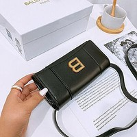 Balenciaga Hourglass Clutch Bag Shoulder Crossbody Bag