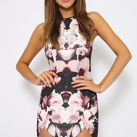 Sugar Kane dress - Pink Floral