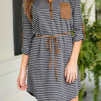 Cupshe Only You Contrast Color Dress