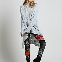 Free People Womens Patchwork Sweater Legging