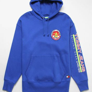 Tommy Jeans '90s Sailing Logo Pullover Hoodie   PacSun