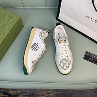 Gucci2021 Men Fashion Boots fashionable Casual leather Breathable Sneakers Running Shoes09020qh