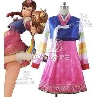 Overwatch Cosplay Palanquin Dva Dress Year of the Rooster Event