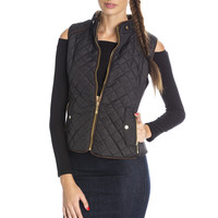 Quilted Vest - Black Ed
