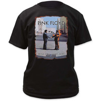 Men's Rock T-Shirt - Pink Floyd Wish You Were Here Cover