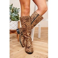 The Wild One Boots (Camel Leopard)
