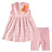 Hudson Baby Dress and Cropped Leggings   Affordable Infant Clothing