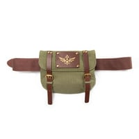 The Legend of Zelda - Brown Belt With Satchel