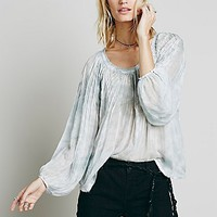 FP One Womens FP One Pintuck Washed Top