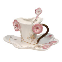 Pink Flower Tea Cup 3pc | AsianFoodGrocer.com, Shirataki Noodles, Miso Soup
