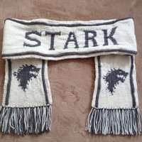 House Stark Scarf - Game of Thrones Customizable Scarves