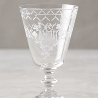 Margeaux Red Wine Glass by Anthropologie in Clear Size: Red Wine Glassware