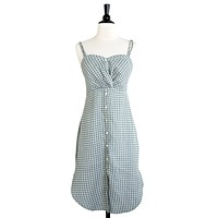 Ari Gingham Sundress