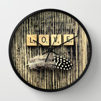 love Wall Clock by ingz