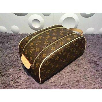 Tagre™ LOUIS VUITTON TOILETRY COSMETIC BAG BAGS PURSE WALLET I