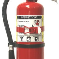 Amerex #B500T 5 lb ABC Multi-Purpose Fire Extinguisher with Vehicle Bracket