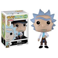 Funko Pop Rick and Morty Vinyl Action Figure With Box & Keychain Toy Model