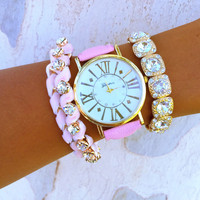 Pink Bling Stack