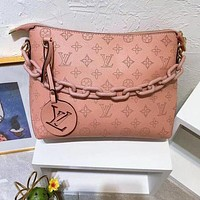 Louis Vuitton letter printing fashion casual lady chain handbag shoulder messenger bag