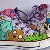 adventure time shoes - Free Shipping Hand Painted Shoes from denimtrend