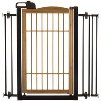 Richell Take' 1-Touch Pet Gate - Walmart.com